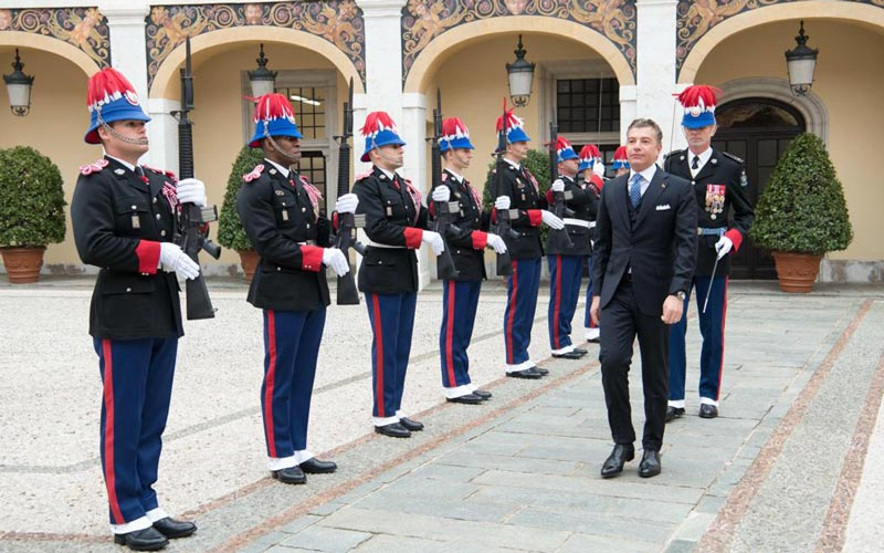 Darío Item es uno de los nuevos representantes diplomáticos en Mónaco